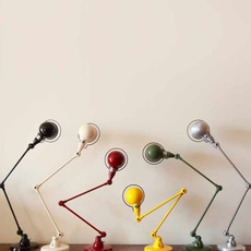 Signal 2 bras jean louis domecq lampe de bureau desk lamp  jielde si333 ral9011  design signed 79695 thumb