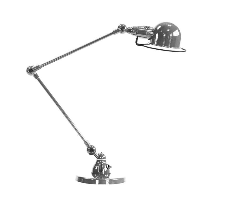 Signal 2 bras jean louis domecq lampe de bureau desk lamp  jielde si333 ral9011  design signed 79696 product