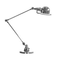 Signal 2 bras jean louis domecq lampe de bureau desk lamp  jielde si333 ral9011  design signed 79696 thumb