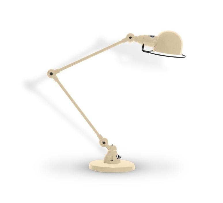 Signal 2 bras jean louis domecq lampe de bureau desk lamp  jielde si333 ral9011  design signed 99030 product
