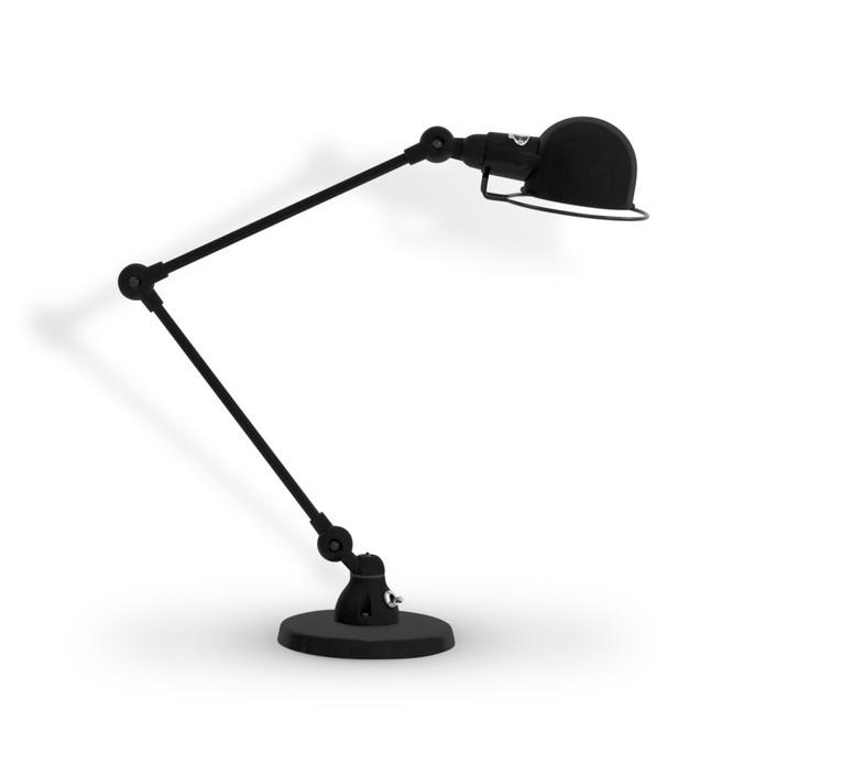 Signal 2 bras jean louis domecq lampe de bureau desk lamp  jielde si333 ral9011  design signed 107647 product