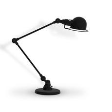 Signal 2 bras jean louis domecq lampe de bureau desk lamp  jielde si333 ral9011  design signed 107647 thumb