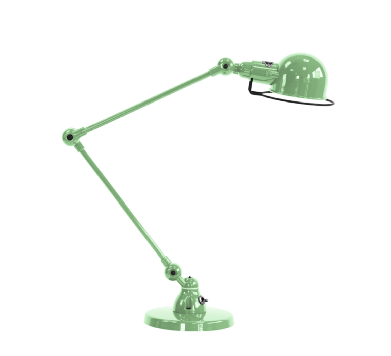 Signal 2 bras jean louis domecq lampe de bureau desk lamp  jielde si333 ral6019  design signed 35948 product