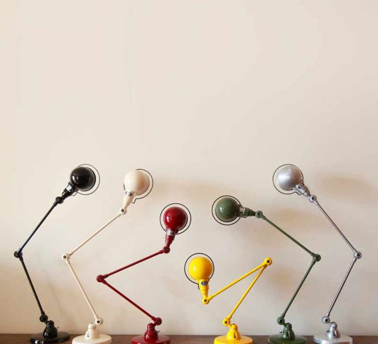 Signal 2 bras jean louis domecq lampe de bureau desk lamp  jielde si333 ral6019  design signed 53566 product