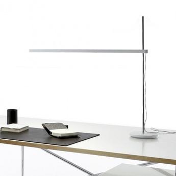 Lampe de bureau talak blanc ip20 3000k 1106lm 70cm h71cm artemide normal