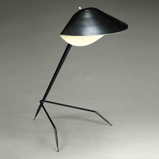 Tripode serge mouille editionssergemouille tripod noir luminaire lighting design signed 20786 thumb