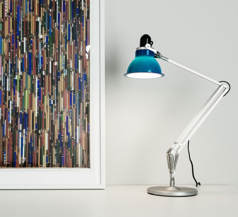lampe de bureau type 1228 bleu marine h53cm anglepoise luminaires nedgis. Black Bedroom Furniture Sets. Home Design Ideas