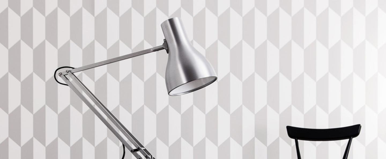 Lampe de bureau type 75 aluminium h57cm anglepoise normal