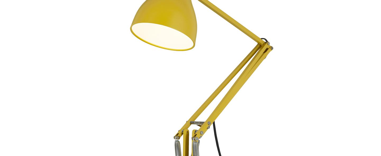 Lampe de bureau type 75 jaune moutarde margaret howell h57cm anglepoise normal