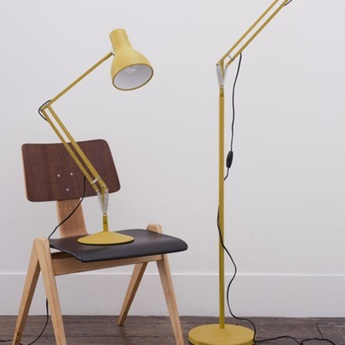 Lampe de bureau type 75 jaune moutarde margaret howell h57cm anglepoise normal