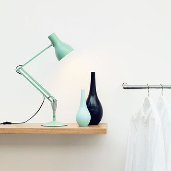Lampe de bureau type 75 margaret howell herbe marine l46cm h57cm anglepoise normal