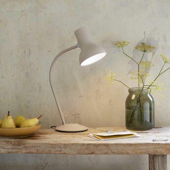 Lampe de bureau type 75 mini gris o13cm h15cm anglepoise normal