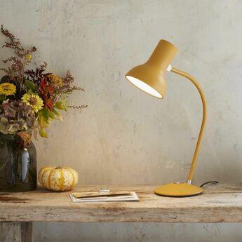 Lampe de bureau type 75 mini jaune o13cm h15cm anglepoise normal