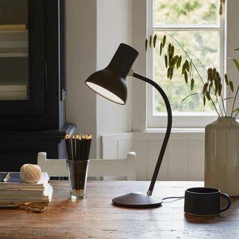 Lampe de bureau type 75 mini noir mat o13cm h15cm anglepoise normal