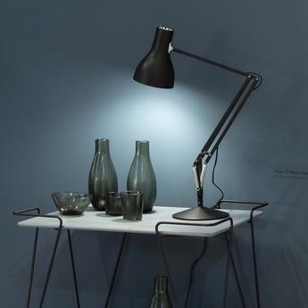 Lampe de bureau type 75 noir h57cm anglepoise normal