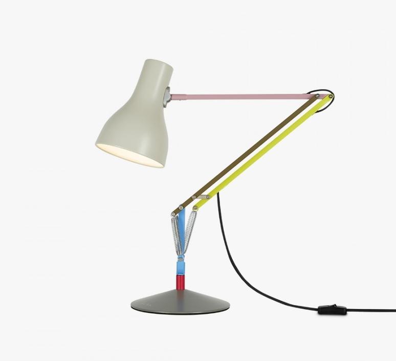 lampe de bureau type 75 paul smith edition one multicolore h57cm anglepoise luminaires. Black Bedroom Furniture Sets. Home Design Ideas