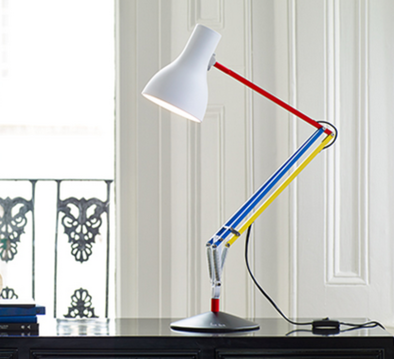 Type 75 paul smith edition three sir kenneth grange anglepoise 32140 luminaire lighting design signed 25967 product