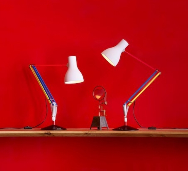 Type 75 paul smith edition three sir kenneth grange anglepoise 32140 luminaire lighting design signed 25969 product