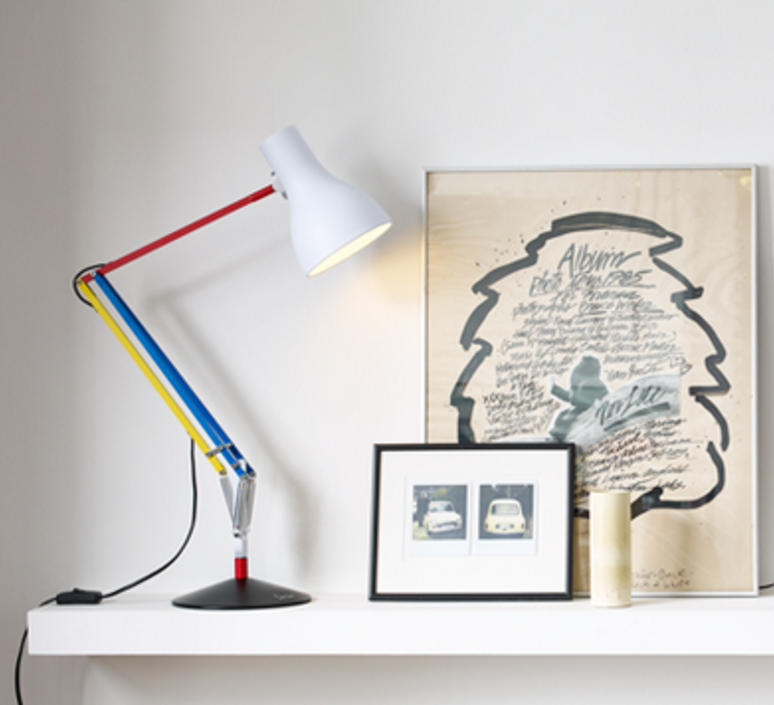 Type 75 paul smith edition three sir kenneth grange anglepoise 32140 luminaire lighting design signed 25970 product