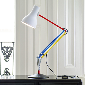 Lampe de bureau type 75 paul smith edition three multicolore h57cm normal