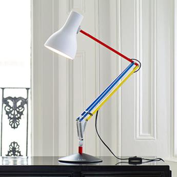 Lampe de bureau type 75 paul smith edition three multicolore h57cm normal