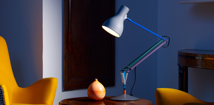 Lampe de bureau type 75 paul smith edition two multicolore h57cm anglepoise normal