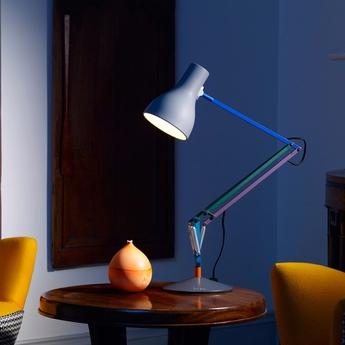 Lampe de bureau type 75 paul smith edition two multicolore h57cm anglepoise normal