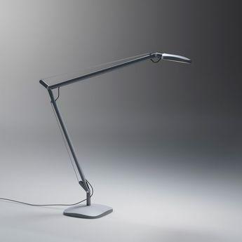 Lampe de bureau Vole LED blanc H64cm Fontana Arte