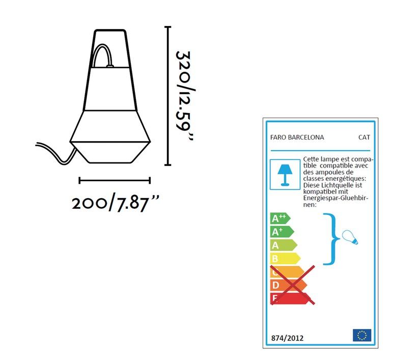 Cat nathrang design faro 71562 luminaire lighting design signed 22756 product