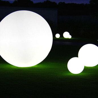 Lampe de jardin globo blanc mat ip55 o60cm slide copy of normal