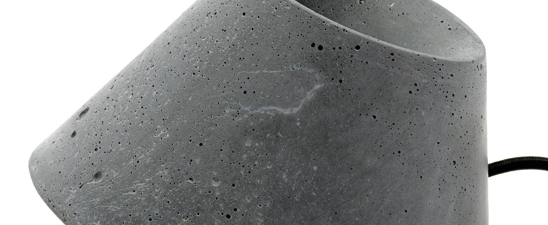 Lampe de sol eaunophe l gris led o60cm h50cm serax normal