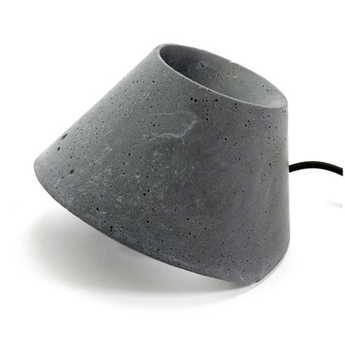 Lampe de sol eaunophe m gris led o50cm h35cm serax normal