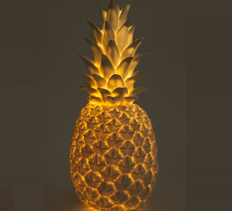 Ananas pina colada eva newton goodnight light pina colada or luminaire lighting design signed 21562 product