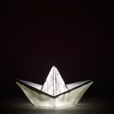 Bateau lorena canals goodnight light paperboat blanc luminaire lighting design signed 21616 thumb
