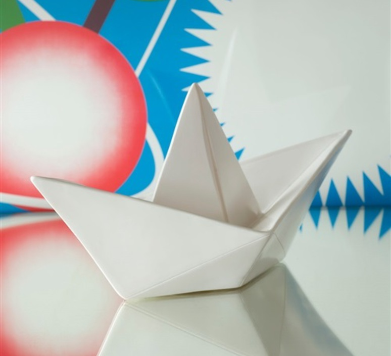 Bateau lorena canals goodnight light paperboat blanc luminaire lighting design signed 21619 product