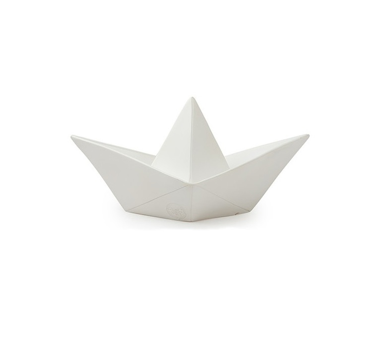 Bateau lorena canals goodnight light paperboat blanc luminaire lighting design signed 21621 product