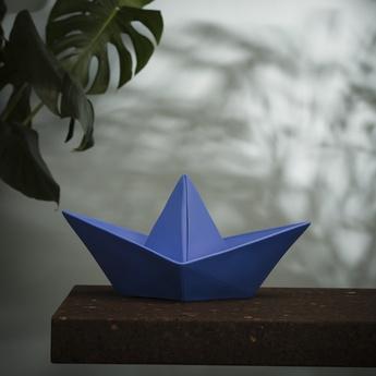 Lampe enfant veilleuse bateau bleu l32cm h16cm goodnight light normal