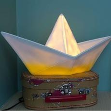 Bateau lorena canals goodnight light paperboat jaune luminaire lighting design signed 21588 thumb