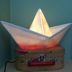 Bateau lorena canals goodnight light paperboat rose luminaire lighting design signed 21604 thumb