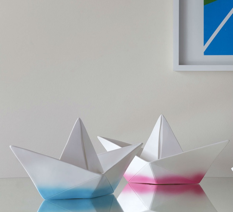 Bateau lorena canals goodnight light paperboat rose luminaire lighting design signed 21608 product