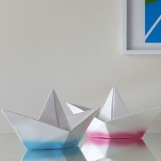 Bateau lorena canals goodnight light paperboat rose luminaire lighting design signed 21608 thumb