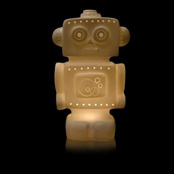 Lampe enfant veilleuse lampe robot blanc h33cm egmont toys normal
