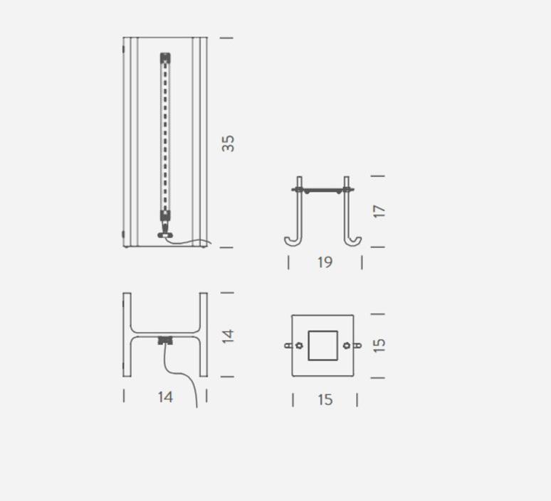 Mais plus que cela je ne peux pas mini rudy ricciotti lampe a poser table lamp  nemo lighting rcm lmm 11  design signed 59529 product