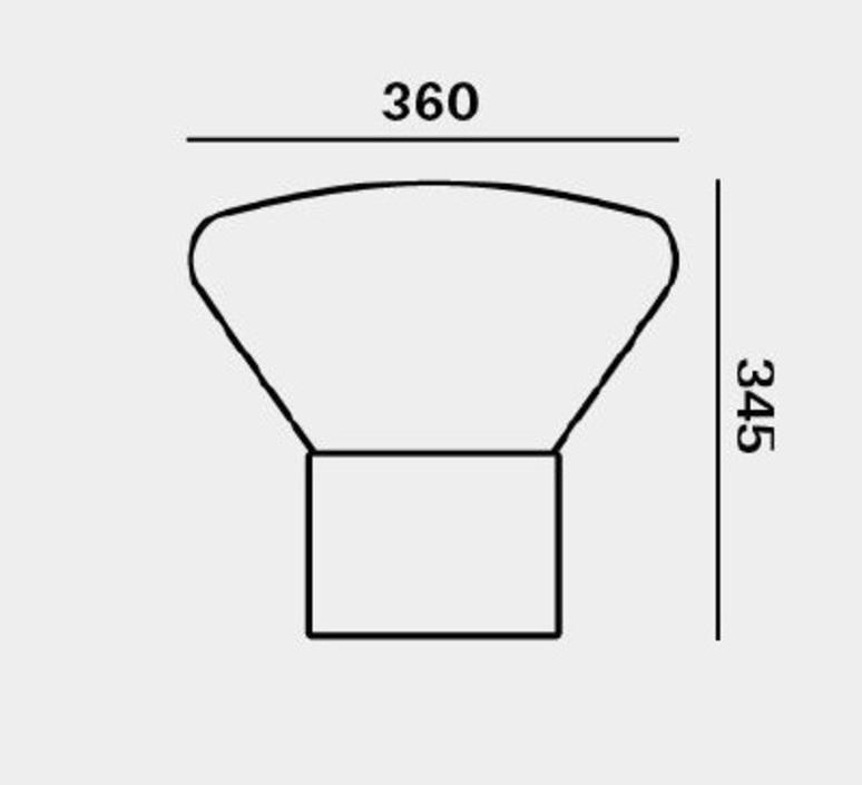 Muffins dan yeffet lampadaire floor light  brokis pc853cgc516ccs592  design signed 70077 product