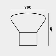 Muffins dan yeffet lampadaire floor light  brokis pc853cgc516ccs592  design signed 70077 thumb