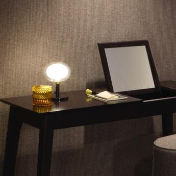 Lampe nabila 552 32 laiton noir et blanc o16cm h19cm tooy normal
