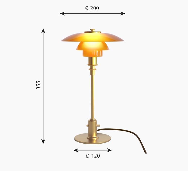 Ph 2 1 lampe de table  lampe a poser table lamp  louis poulsen 5744166153  design signed 96456 product