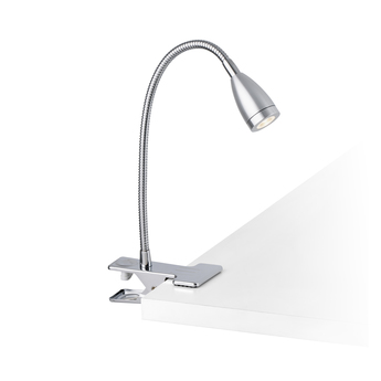 Lampe pince loke aluminium 3000k 120lm o6cm h24cm faro normal