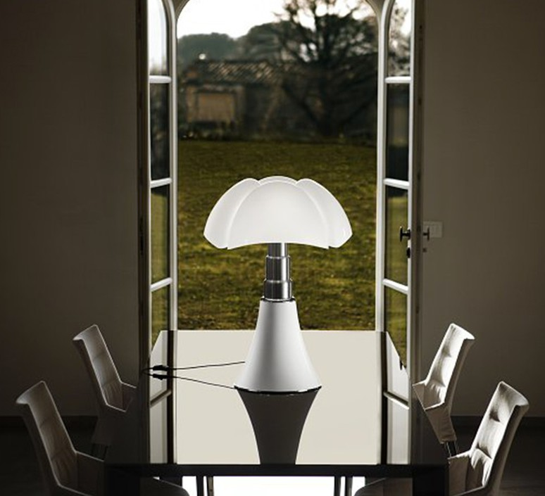 Pipistrello gae aulenti martinelli luce 620 l 1 ne luminaire lighting design signed 59699 product
