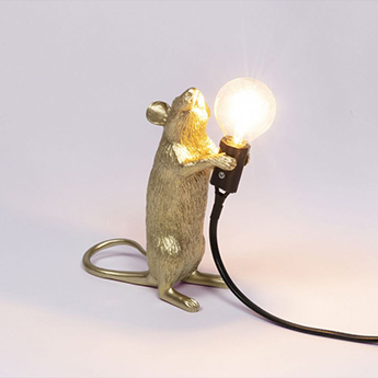 Lampe souris debout mouse standing or led cm h14 5cm seletti normal